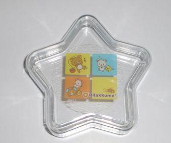 リラックマ・星型のキャンディケース