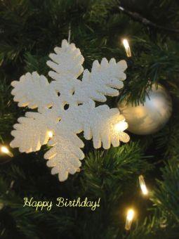 12月15日生まれの皆さん、お誕生日おめでとう!