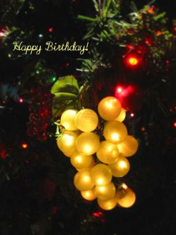 12月16日生まれの皆さん、お誕生日おめでとう!