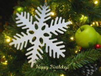 12月22日生まれの皆さん、お誕生日おめでとう!