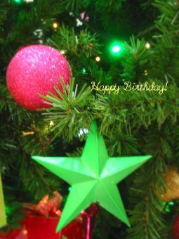 12月28日生まれの皆さん、お誕生日おめでとう!