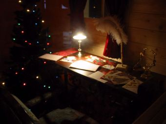 サンタクロースの書斎
