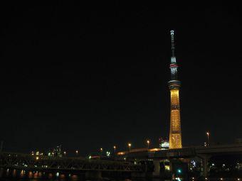 東京スカイツリー『2020年東京オリンピックへ!』