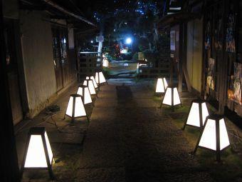 中仙道蕨宿『光と音のページェント』02