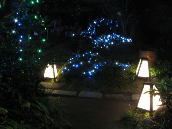 中仙道蕨宿『光と音のページェント』03