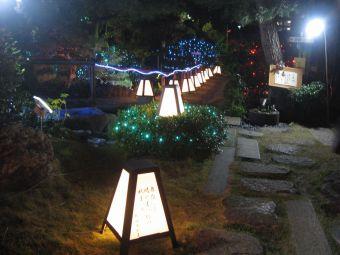 中仙道蕨宿『光と音のページェント』07