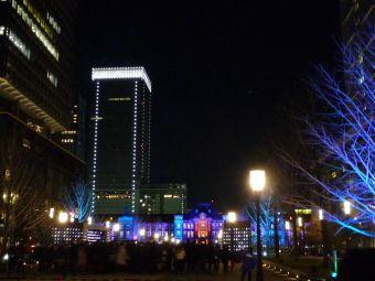 東京駅メモリアルライトアップ01