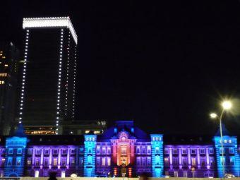 東京駅メモリアルライトアップ03