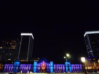 東京駅メモリアルライトアップ04