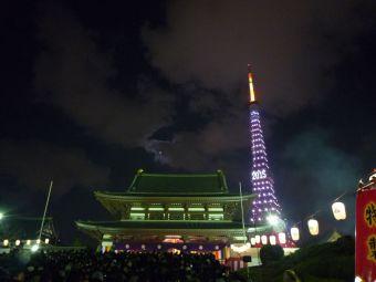 2015西暦表示の東京タワー05