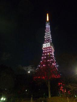 2015西暦表示の東京タワー09