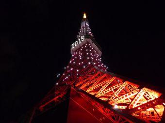2015西暦表示の東京タワー12