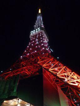2015西暦表示の東京タワー13