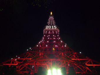 2015西暦表示の東京タワー14