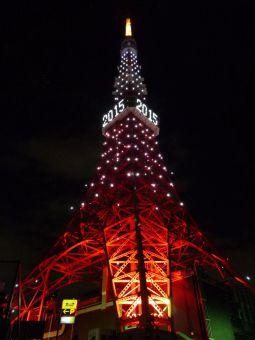 2015西暦表示の東京タワー18