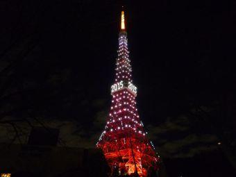2015西暦表示の東京タワー19