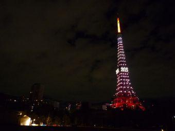 2015西暦表示の東京タワー21