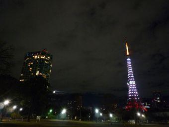 2015西暦表示の東京タワー23