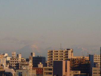 1月2日の筑波山?