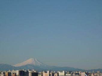 1月3日の富士山01