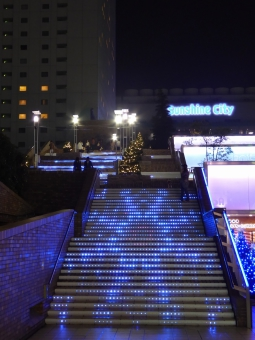 池袋サンシャインシティスペイン階段