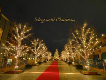 3days until Christmas.