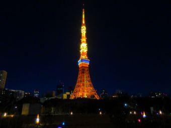 「2015」表示の東京タワー04