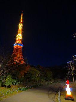 「2015」表示の東京タワー06