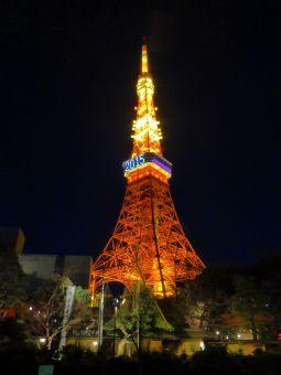 「2015」表示の東京タワー09