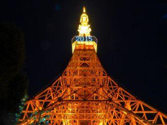 「2015」表示の東京タワー10