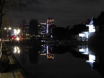 西暦「2016」表示の東京タワー01
