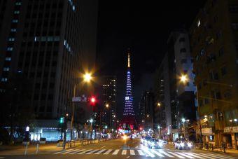 西暦「2016」表示の東京タワー10