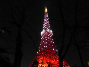 西暦「2016」表示の東京タワー15